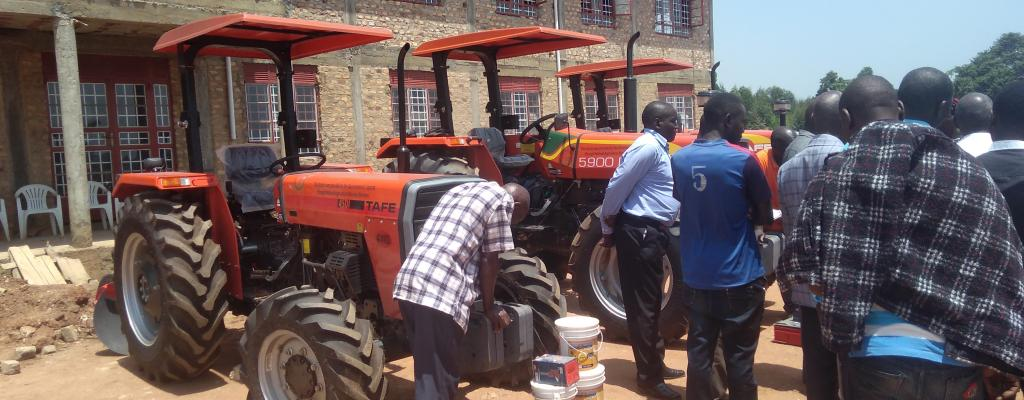 DONATED TRACTORS